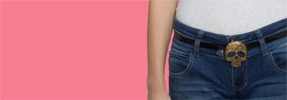 ladies belt buckles